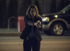 """The Flash -- """"The Fury of Firestorm"""" -- FLA204A_0268b -- Pictured: Shantel VanSaten as Patty Spivot -- Photo: Cate Cameron /The CW -- © 2015 The CW Network, LLC. All rights reserved."""