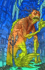 AQUAMAN #45 monster variant