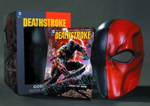 DEATHSTROKE BOOK AND MASK SET $29.99