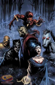 JUSTICE LEAGUE #45 monster variant
