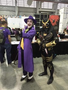 The Joker and Talon
