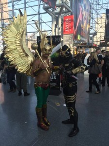 Hawkman and Talon