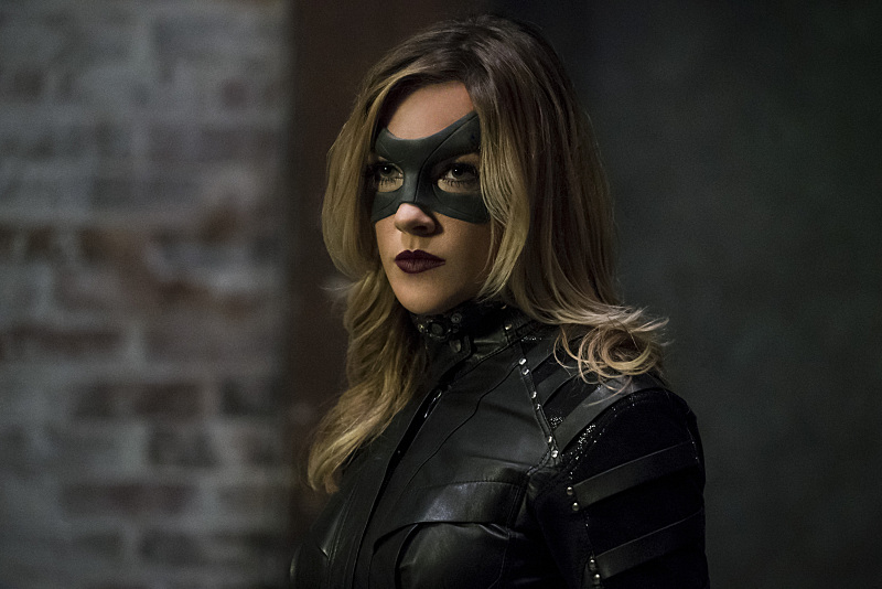 """Arrow -- """"The Candidate"""" -- Image AR402A_0406b -- Pictured: Katie Cassidy as Black Canary -- Photo: Katie Yu /The CW -- © 2015 The CW Network, LLC. All Rights Reserved."""