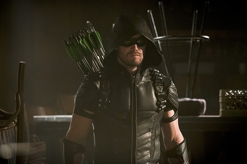 """Arrow -- """"The Candidate"""" -- Image AR402A_0245b -- Pictured: Stephen Amell as The Arrow -- Photo: Katie Yu /The CW -- © 2015 The CW Network, LLC. All Rights Reserved."""