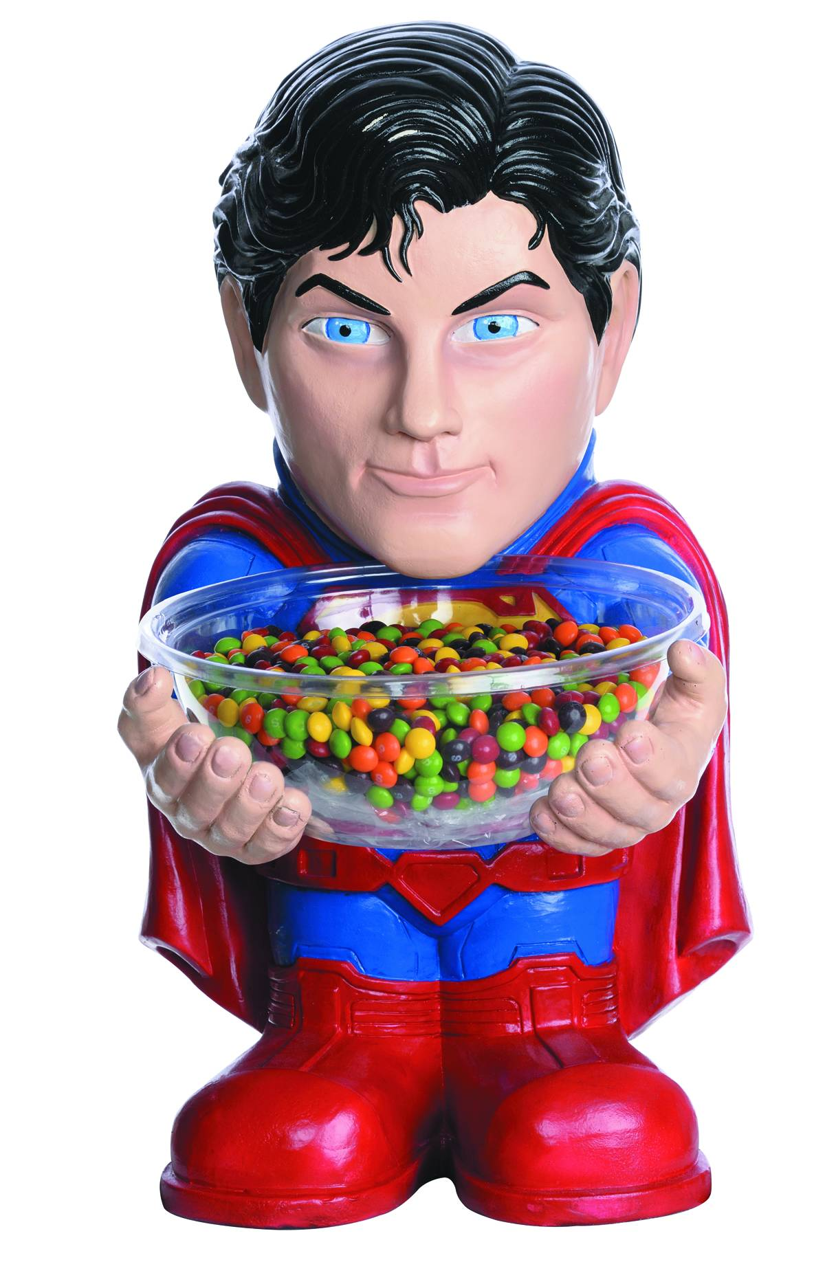 DC HEROES SUPERMAN CANDY BOWL HOLDER