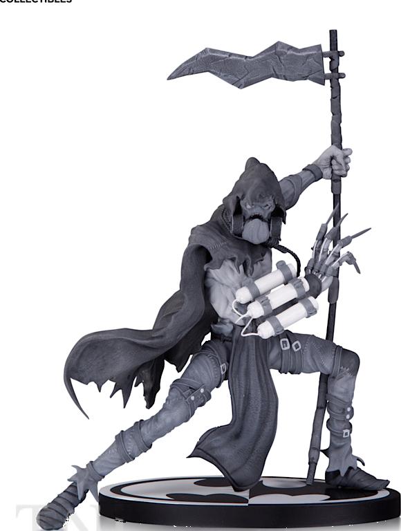 BATMAN BLACK & WHITE STATUE SCARECROW BY DANDA