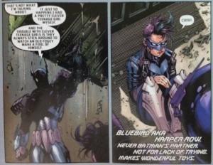 Batman Robin Eternal 1 Batbot and Bluebird