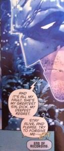 Batman Robin Eternal 1 Bat Confession