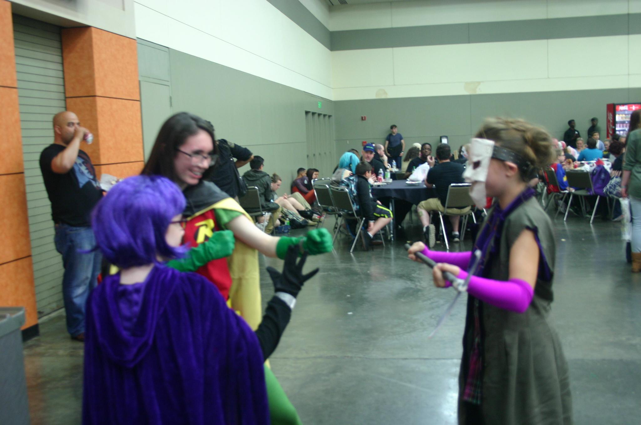 Raven, Robin and Joker's Daughter