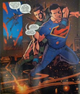 Grayson Annual 2 Supes and Dick Jumping