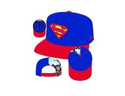 DC HEROES SUPERMAN QUARTER SUB 9FIFTY SNAP BACK CAP