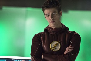 """The Flash -- """"Legends of Today"""" -- Image FLA208B_0113b.jpg -- Pictured: Grant Gustin as Barry Allen -- Photo: Cate Cameron/The CW -- © 2015 The CW Network, LLC. All rights reserved"""