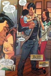 Superman Lois and Clark 2 Home life