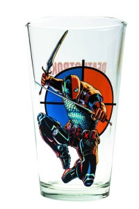 TOON TUMBLERS DEATHSTROKE PINT GLASS $10.99