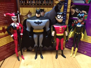 THE NEW BATMAN ADVENTURES BATGIRL BENDABLE FIGURE $7.95