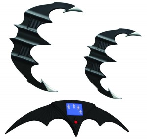 BATMAN & BATMAN RETURNS BATARANG REP SET $499.95
