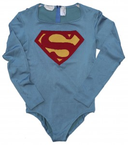 The super suit worn by Christopher Reeves is now up for auction.