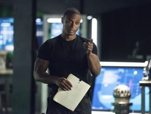 """Arrow -- """"Brotherhood"""" -- Image AR407A_0065b.jpg -- Pictured: David Ramsey as John Diggle -- Photo: Dean Buscher/The CW -- © 2015 The CW Network, LLC. All Rights Reserved."""