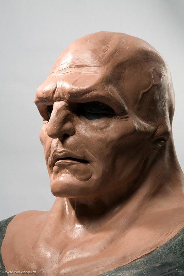 Martian Manhunter face mold