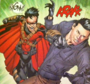 Batman and Robin Eternal 5 Pow In the Kisser