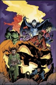 TEEN TITANS #13 (Aaron Lopresti Monsters variant)