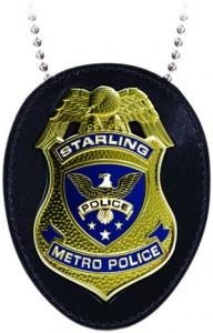 ARROW TV STARLING CITY POLICE BADGE $30.00