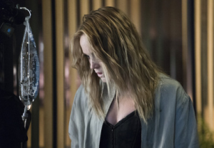 "Arrow -- ""Haunted"" -- Image AR404A_0208b.jpg -- Pictured: Caity Lotz as Sara Lance -- Photo: Katie Yu/ The CW -- © 2015 The CW Network, LLC. All Rights Reserved."
