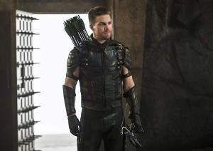 "Arrow -- ""Haunted"" -- Image AR404B_0233b.jpg -- Pictured: Stephen Amell as The Arrow -- Photo: Cate Cameron/ The CW -- © 2015 The CW Network, LLC. All Rights Reserved."