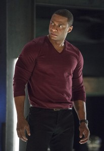 "Arrow -- ""Haunted"" -- Image AR404B_0190b.jpg -- Pictured: David Ramsey as John Diggle -- Photo: Cate Cameron/ The CW -- © 2015 The CW Network, LLC. All Rights Reserved."
