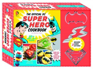 OFFICIAL DC SUPER HERO COOKBOOK DLX ED $26.99