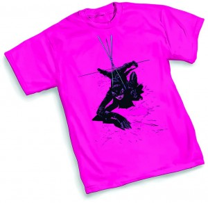 CATWOMAN SUSPEND T/S MED $18.95