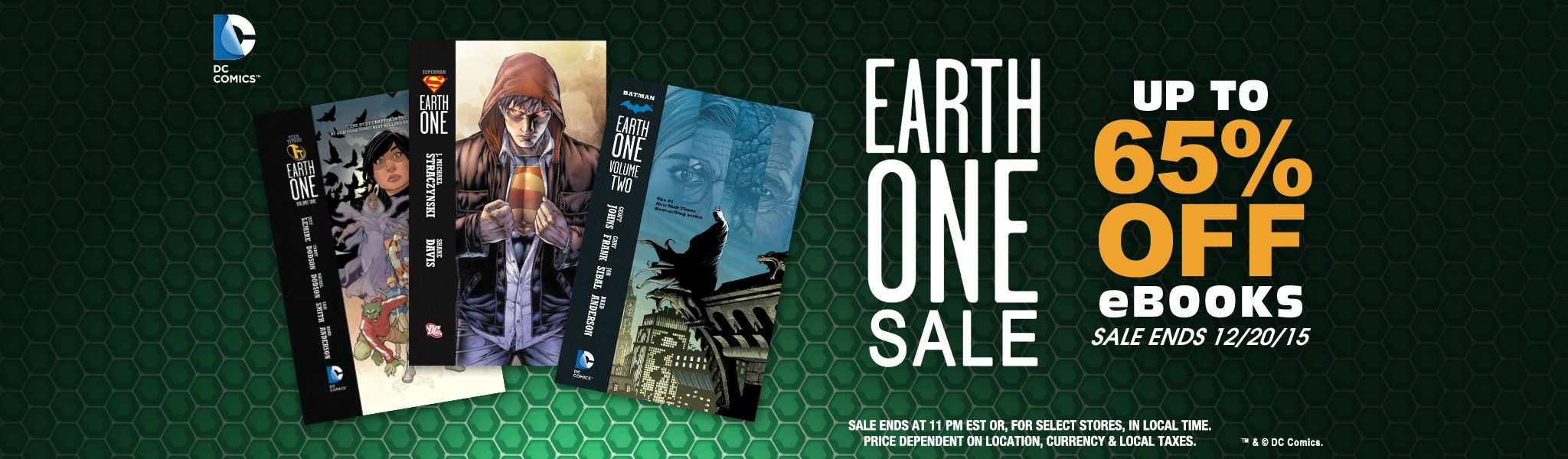 Dc entertainment launches earth one sale with up to 65 off on as you may know the earth one graphic novels share a continuity separate from that of the current dcu which is new 52dcyou earth one lets the writers fandeluxe Images