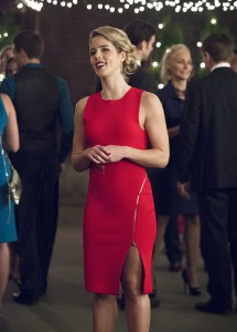 """Arrow -- """"Dark Waters"""" -- Image AR409B_0034b.jpg -- Pictured: Emily Bett Rickards as Felicity Smoak -- Photo: Diyah Pera/ The CW -- © 2015 The CW Network, LLC. All Rights Reserved."""