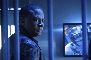 "Arrow -- ""A.W.O.L."" -- Image AR411b_0076b.jpg -- Pictured: David Ramsey as John Diggle  -- Photo: Liane Hentscher/ The CW -- © 2016 The CW Network, LLC. All Rights Reserved."