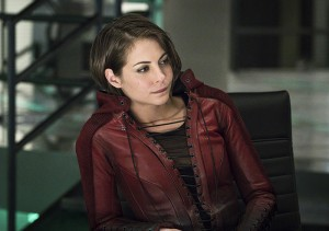 "Arrow -- ""A.W.O.L."" -- Image AR411A_0299b.jpg -- Pictured: Willa Holland as Thea Queen -- Photo: Liane Hentscher/ The CW -- © 2016 The CW Network, LLC. All Rights Reserved."