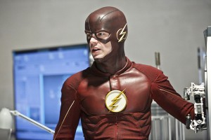 """The Flash -- """"The Reverse Flash Returns"""" -- Image FLA211b_0091b -- Pictured: Grant Gustin as The Flash -- Photo: Bettina Strauss/The CW -- © 2016 The CW Network, LLC. All rights reserved."""