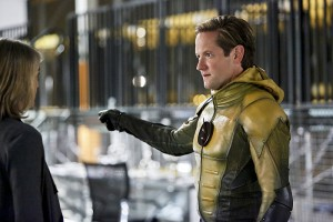 """The Flash -- """"The Reverse Flash Returns"""" -- Image FLA211b_0017b -- Pictured (L-R): Amanda Pays as Christina McGee and Matthew Letscher as Eobard Thawne/Reverse Flash -- Photo: Bettina Strauss/The CW -- © 2016 The CW Network, LLC. All rights reserved."""