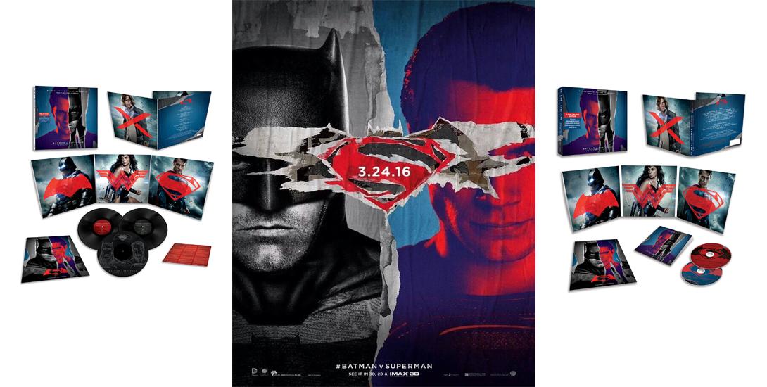 Batman v Superman soundtrack dc comics news