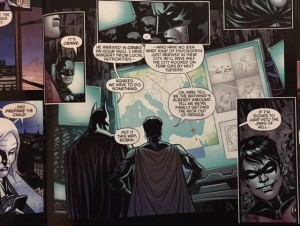 Batman and Robin Eternal 15 Bruce and Dick