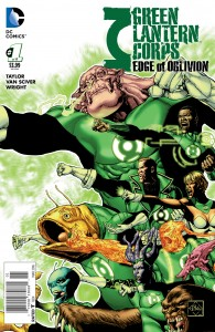 GREEN LANTERN CORPS EDGE OF OBLIVION #1 (of 6)