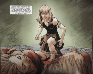 Batman and Robin Eternal 21 Mother as a Child