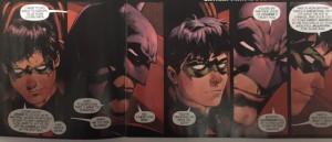Batman and Robin Eternal 21 Bruce Tusts Dick