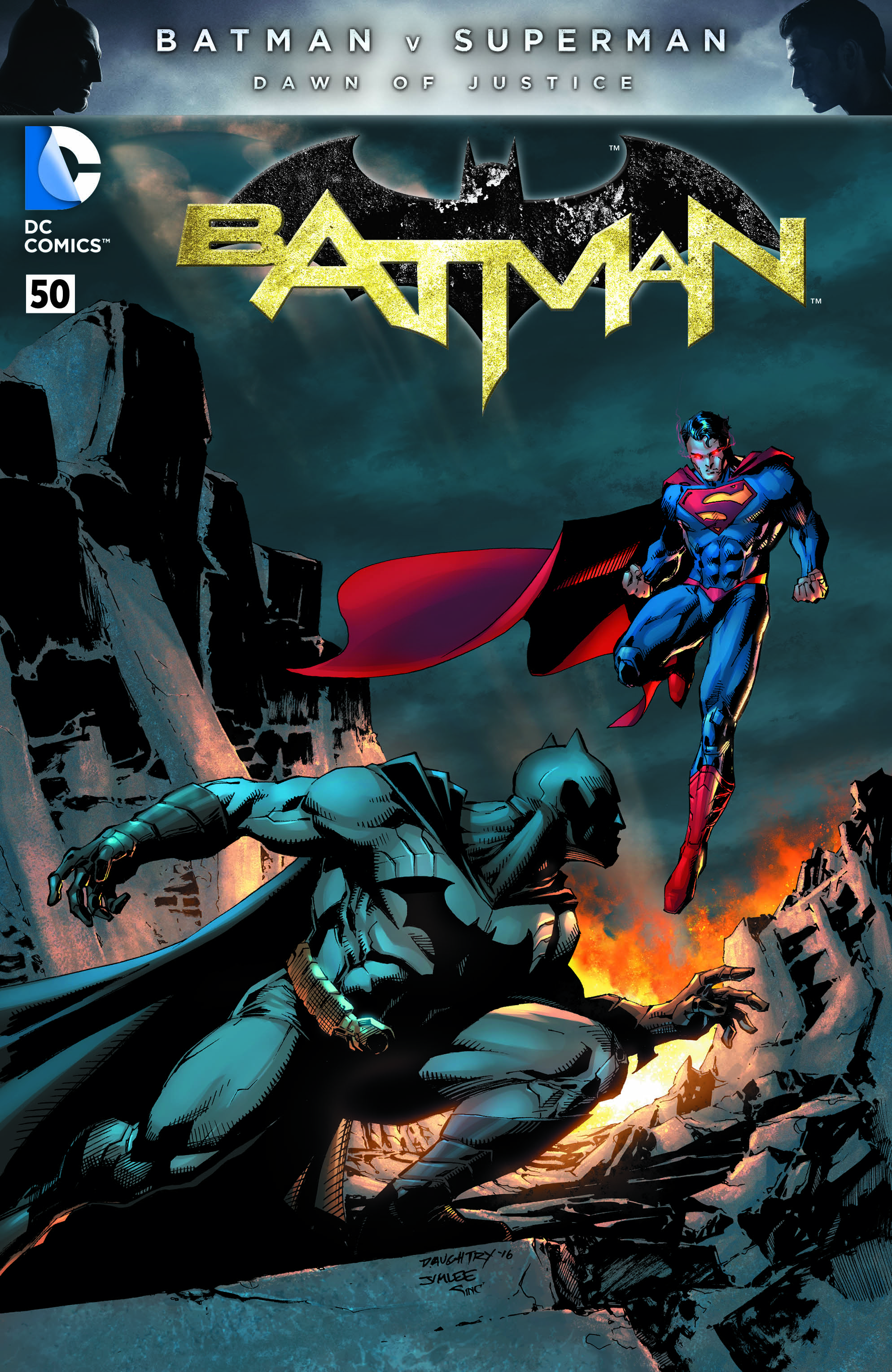Full Colour Variant by Jim Lee & Chris Daughtry