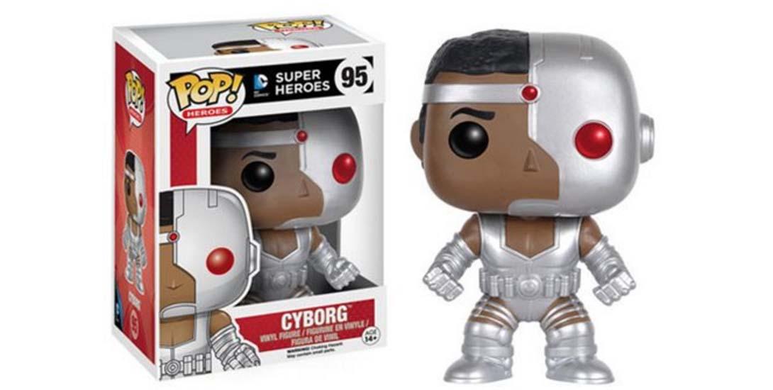 Justice League Cyborg Pop dc comics news