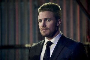 """Arrow -- """"Code of Silence"""" -- Image AR414b_0118b.jpg -- Pictured:  Stephen Amell as Oliver Queen -- Photo: Katie Yu/ The CW -- © 2016 The CW Network, LLC. All Rights Reserved."""