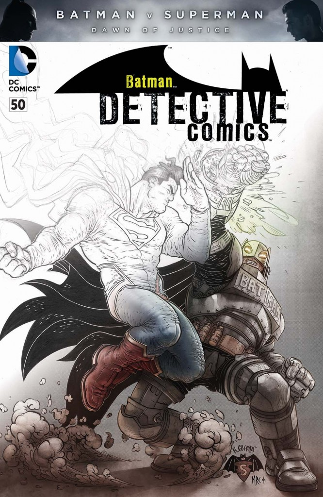 Detective comics 50 bvs