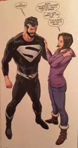Lois and Clark 4 Black Suit