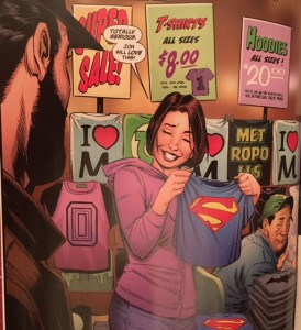 Lois and Clark 4 Superman Shirt