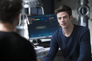 "The Flash -- ""Fast Lane"" -- Image: FLA212B_0026b.jpg -- Pictured: Grant Gustin as Barry Allen -- Photo: Katie Yu/The CW -- © 2016 The CW Network, LLC. All rights reserved."