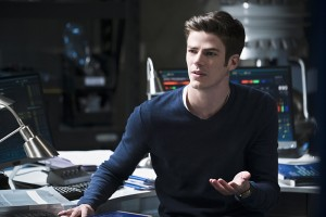 "The Flash -- ""Fast Lane"" -- Image: FLA212B_0025b2.jpg -- Pictured: Grant Gustin as Barry Allen -- Photo: Katie Yu/The CW -- © 2016 The CW Network, LLC. All rights reserved."